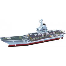 Porta-aviões chinês 3D Puzzle de Liaoning