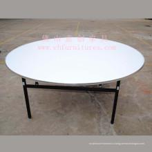 Круглый стол для банкетов с алюминиевой кромкой (YC-T05-02)