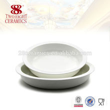 Round Food buffet warming serving plate catering dinner plates