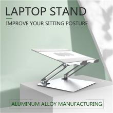 Soporte para computadora portátil de posición ergonómica resistente y altamente ajustable