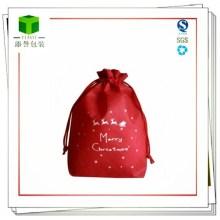 Рождественская сумка для нетканых материалов / ручка для покупок