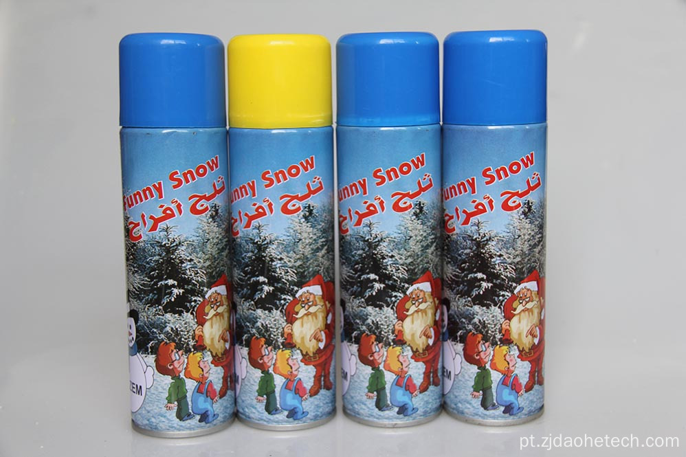 300 ml de spray de neve árabe de papai noel