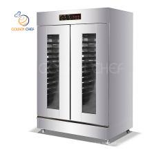 64 trays fermentation steam heater double door commercial bread  intermediate proofer bakery proofer machine
