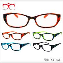 Горячие продажи Пластиковые очки чтения с камуфляжем Hot Stamp Transfer (WRP411413)