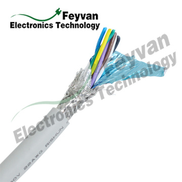 Wholesale Price for Encoder Wiring Color Code UL2517 PVC Insulated Multi Conductor Shielded Cable supply to Tajikistan Exporter