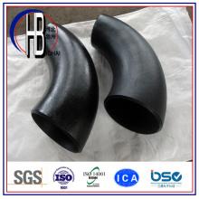 A234 / A105 Bw Steel Fitting 90 Grad Kohlenstoffstahl kurzen Radius Ellenbogen mit großen Rabatt