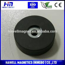 Neodymium Rubber Coated Magnet,Rubber holding pot magnet