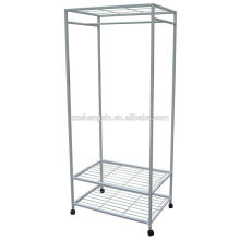 Removable Metal Clothes Rack Steel for Sale