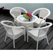 Venta caliente al aire libre clásicos Rattan muebles de comedor