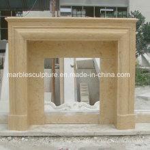 Mantel de cheminée en marbre de style simple (SY-MF209)