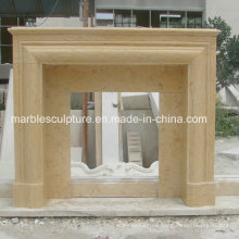 Simple Style Marble Fireplace Mantel (SY-MF209)