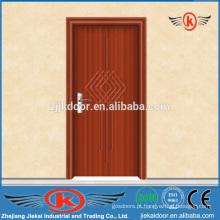 JK-P9055 portas de PVC de madeira maciça de segurança interior