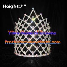 7inch Queen Crystal Rhinestone Crowns