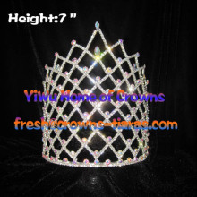 7inch Queen Crystal Rhinestone Crowns