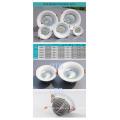 CREE 5W-50W Chip Osram Philips Driver curva cara Embeded LED Downlight con UL SAA