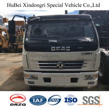 6 cbm Dongfeng Euro 4 camion à ordures à chargement arrière hydraulique