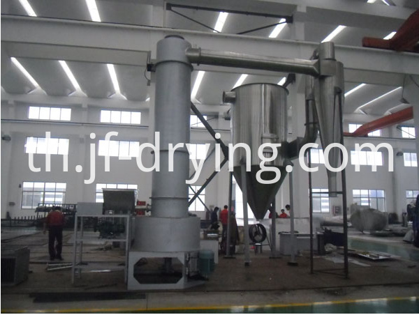 Spin flash dryer machine (1)