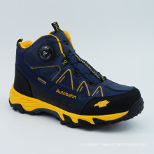 New Design High Hiking Shoes with Rotating Buckle