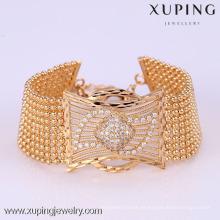 72164 Xuping Fashion Woman pulsera con chapado en oro