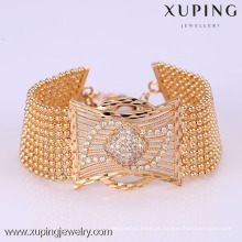 72164 Xuping Fashion Woman Bracelet com banhado a ouro