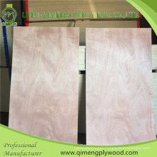 Linyi Qimeng Factory Exporting Small Size Commercial Plywood 3′x6′ 3′x7′ 3′x8′okoume Dbbcc Grade Door Skin with Cheaper Price