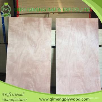 Linyi Qimeng Factory Exporting Small Size Commercial Sperrholz 3'x6 '3'x7' 3'x8'okoume Dbbcc Grade Tür Skin mit billigeren Preis