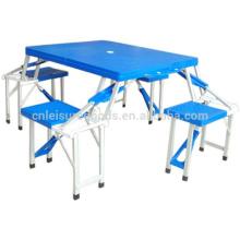 Camping en plastique pliante table de pique-nique Camping plastique pliante table de pique-nique Camping en plastique pliante table de pique-nique