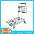 supermarket heavy duty strong and durable flat pack trolley