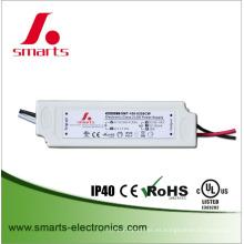 Fuente de alimentación led de salida única 2000ma 25w controlador de interior led para panel downlight