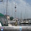 Solar Wind Turbine for Boat Use