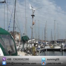 Солнечная ветроустановка для использования на лодке