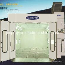 Cabine de jet d'entretien automatique de voiture avec le certificat de la CE / OIN