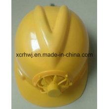 Крышка безопасности Bump крышек шлема ABS & EVA вкладыша, шлема безопасности с вентилятором, шлем трудной шлема шлема промышленной безопасности трудного