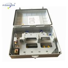 PG-FTTH0248 screw lock type inline plastic Fiber Optic Management Distribution Terminal Box
