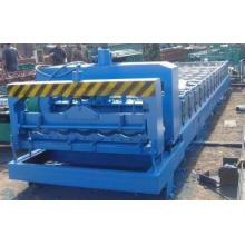 Farbstahl glasierte Dachplatten-Rollformmaschine