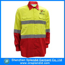 2016 High Visibility Clothing Men′s Reflective Safety From Garment Factory