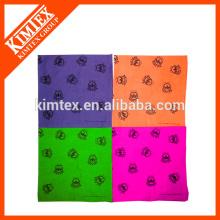 Bandana imprimée en coton bon marché et unique