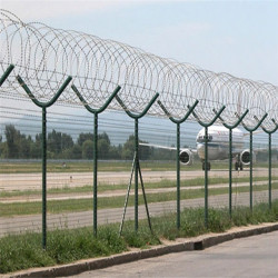 Razor Barbed Wire Airport Security Fencing
