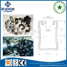 Canal de soporte de acero reforzado, pregalvanizado