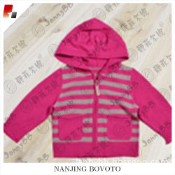 hot baby girl rosy knitted wear coat