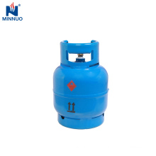 small 3kg gas cylinder propane tank,high quality steel bottle