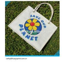 Elegante pequena boa qualidade com baixo preço drawstring saco de juta / juta saco de presente / jute gunny sacos