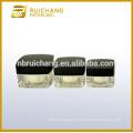 Frasco de creme acrílico 15g / 30g / 50g, frasco de creme acrílico da forma quadrada