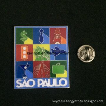 2016 Factory Direct Sales OEM Design Metal Pins Badge