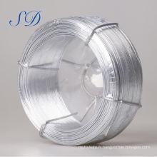 Fil de Galvanzied d'acier à faible teneur en carbone de fil de fer galvanisé de 2.0mm 0.2 ~ 5.0mm (usine)
