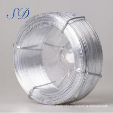 Fio galvanizado do aço de baixo carbono do wirer do ferro de 2.0mm 0.2 ~ 5.0mm (fábrica)