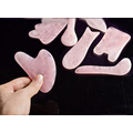 Rose quartz Facial Massager Boards Gua Sha Board