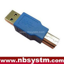 USB 3.0 print adapter, USB A male to B male