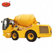 FM1.7 Self Propelled Loading Concrete Mixer Truck