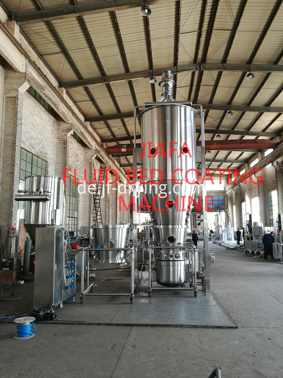 2018.1.04 FLUID BED COATING MACHINE
